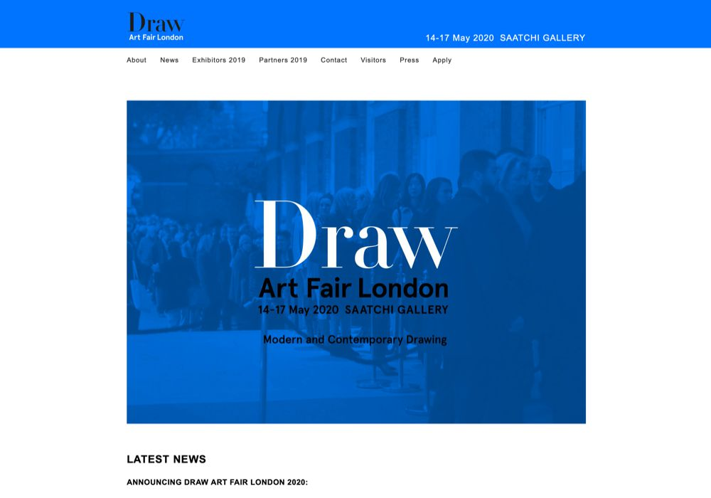 Draw Art Fair London
